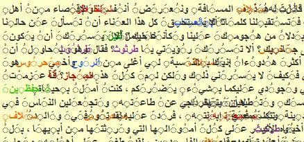 مشكلة علامات التشكيل العربية (الضم