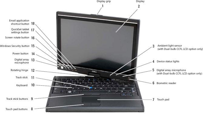 Dell Latitude Tablet حاسب اللوحي