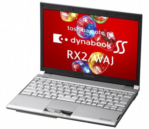 توشيبا تقدم DynaBook RX2, الأول