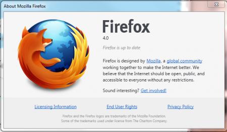 Mozilla Firefox 4.0 - Final