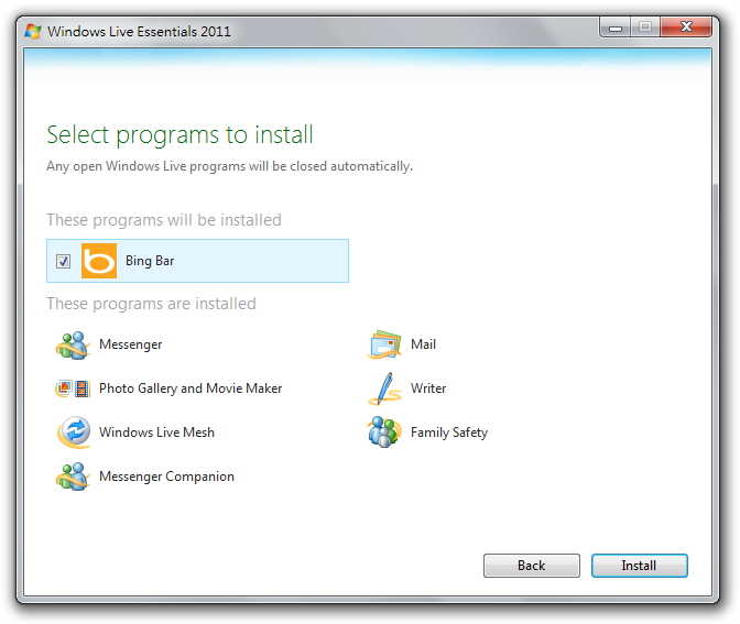 how to install windows live mail 2012 in windows 10