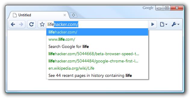 مشكلة في البحث لمتصفح جوجل كروم