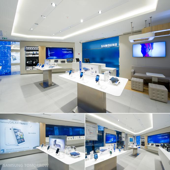 Interior Design Technology: باريس تحتضن أول متجر رسمي لمنتجات سامسونج .. صور