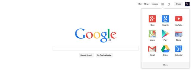 جوجل تبدأ في اظهار التصميم الجديد لصفحة البحث الرئيسية