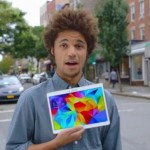 new Galaxy Tab S vs iPad advert