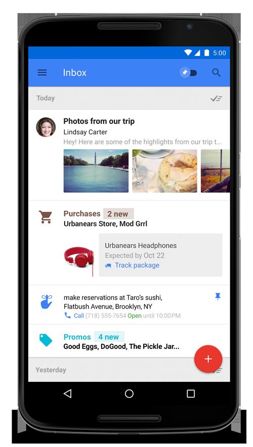 جوجل تكشف عن خدمة inbox الجديدة بنظام الدعوات فقط