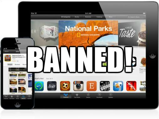 Apple iPhone banned