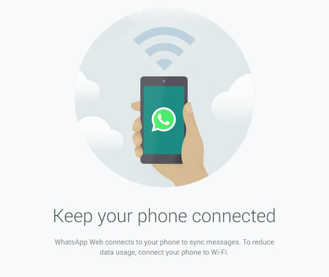 WhatsApp متاح الان عبر الويب