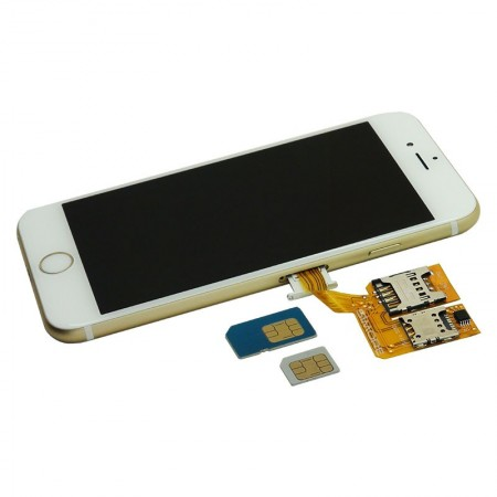 استخدم حتى ثلاثة شرائح اتصال في وقت واحد على الايفون 6 بلس
