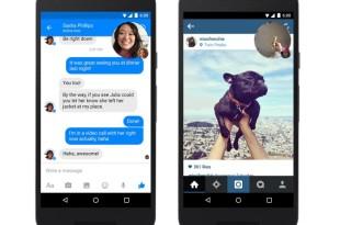 الكشف عن مزايا جديدة في تطبيق فيس بوك ماسنجر