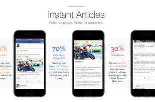 المقالات الفورية متاحه الان لكل الناشرين على الفيس بوك