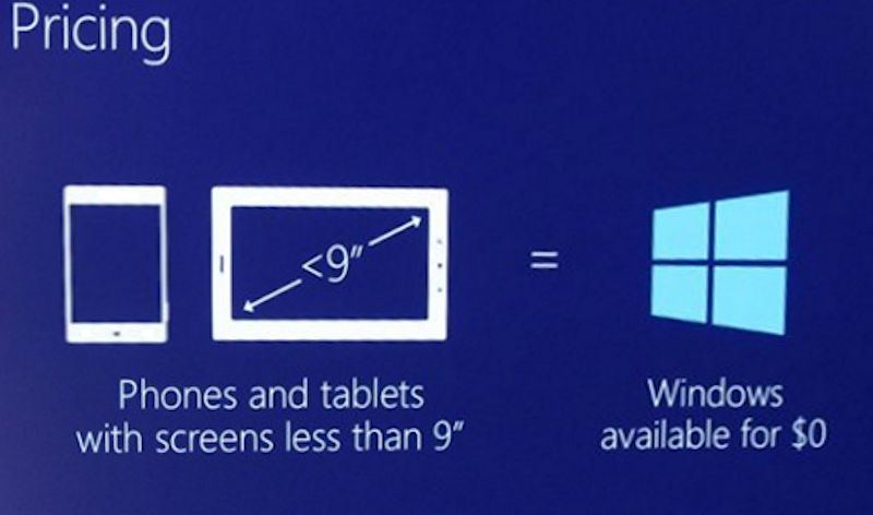 مايكروسوفت ترفع حجم شاشات هواتف الويندوز الى 9 بوصة