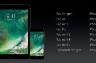 هذه هي الاجهزة المتوافقة مع iOS 10