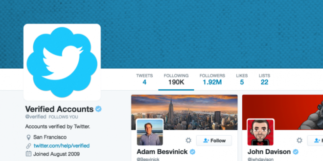 تويتر توثق عدد كبير من الحسابات خلال شهر يوليو
