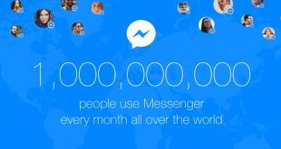 مليار مستخدم شهري لتطبيق فيس بوك ماسنجر