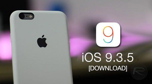 ابل تطلق تحديث أمني عاجل مع الاصدار iOS 9.3.5