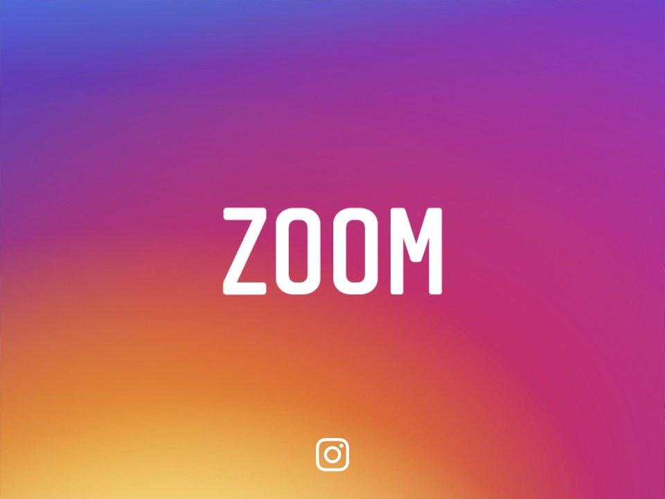انستجرام تسح اخيرا بتكبير مشاهدة الصور (zoom)