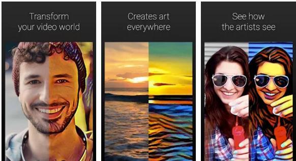 تطبيق Artisto يحاكي تطبيق Prisma ولكن لمقاطع الفيديو