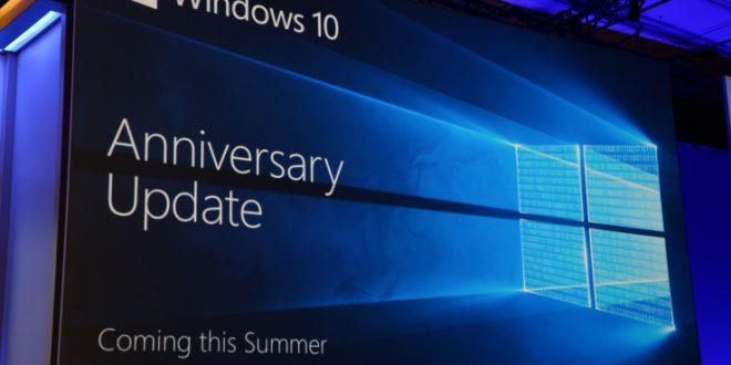 مايكروسوفت تبدأ غدا تحديث الويندوز 10 السنوي