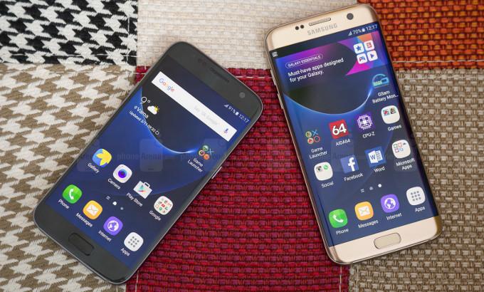 هواتف سامسونج تتصدر قوائم الاكثر مبيعا في 2016 و اس 7 ايدج في المقدمة