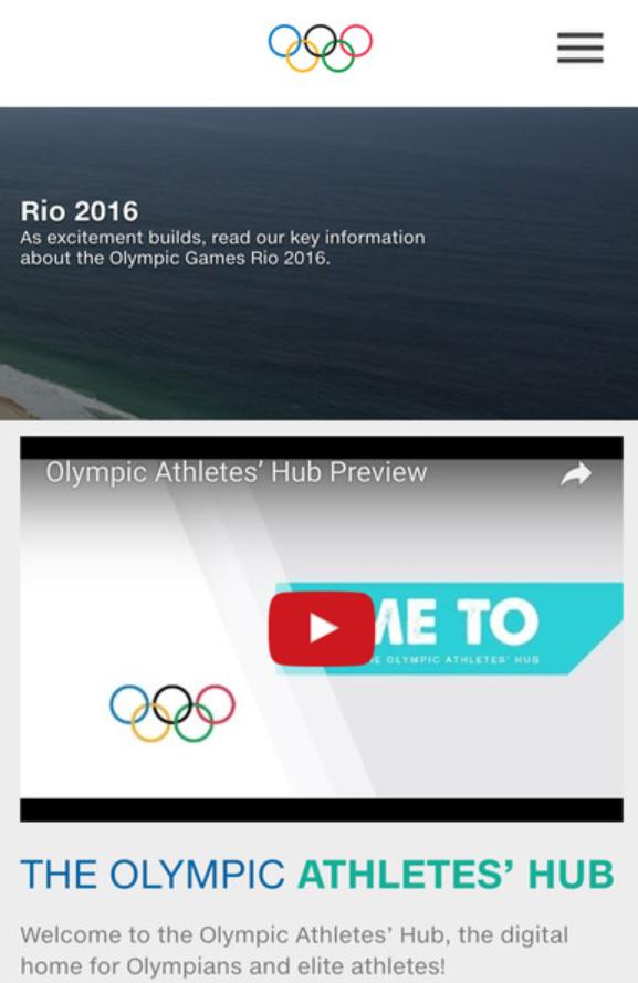 2. Olympic Athletes' Hub-2016