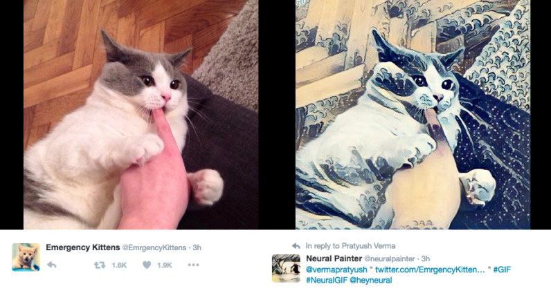 حساب آلي على تويتر يحول صورك الى مايشبه صور Prisma