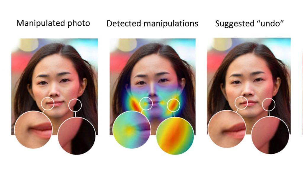 آدوبي تنجح في تطوير الذكاء الاصطناعي لكشف التلاعب في الوجوه باستخدام الفوتوشوب