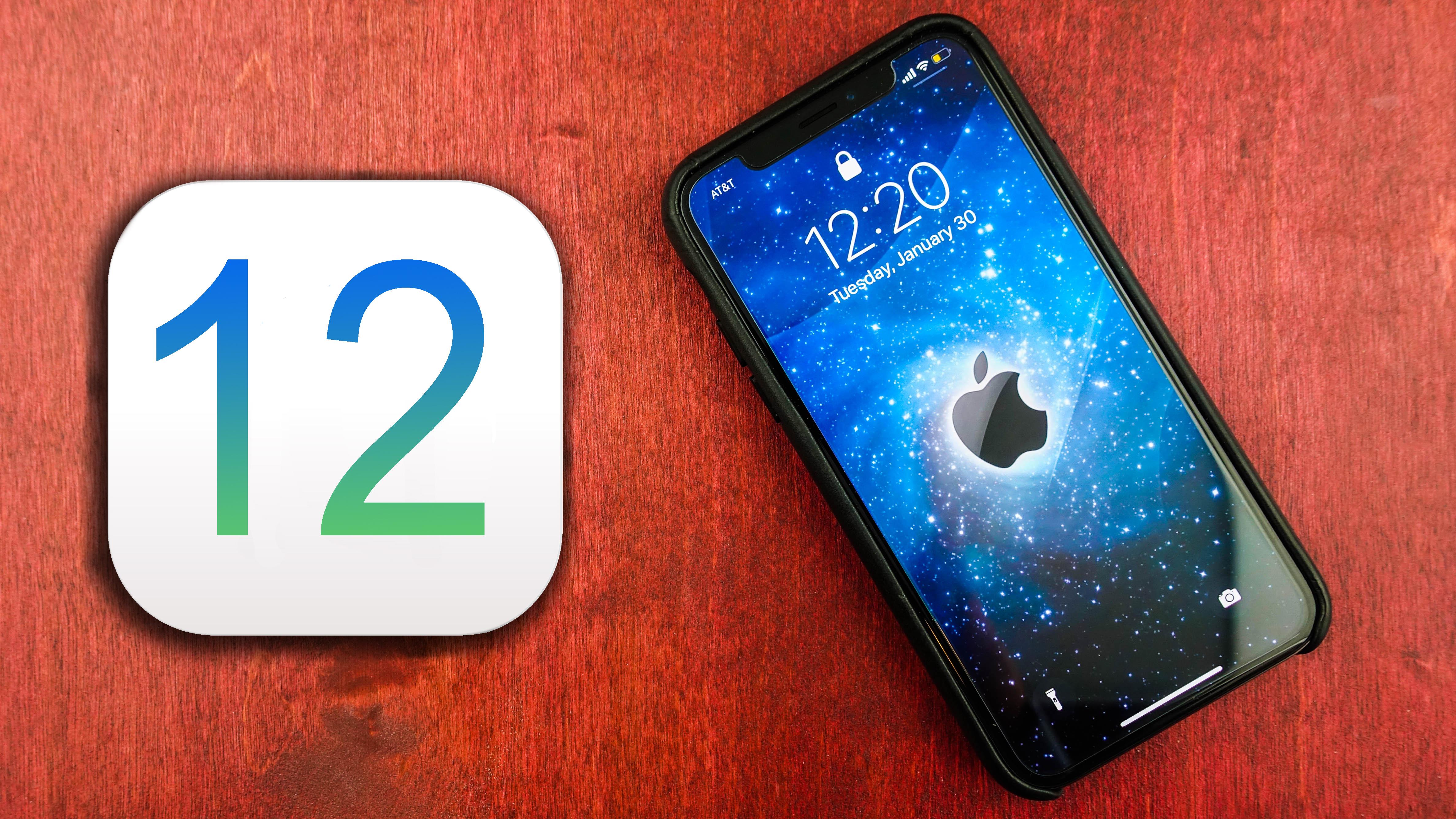 ابل تكشف رسمياً عن iOS 12 مع التركيز على الأداء والواقع المعزز