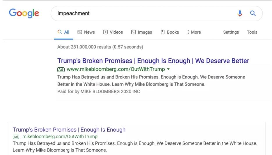 تحليل : رئيس اميركا القادم ملك الاعلانات على موقع جوجل 1