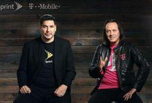 صورة الاعلان رسمياً عن إندماج شركتي الاتصال T-Mobile و Sprint في امريكا