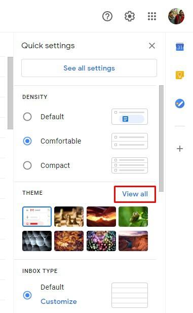 Gmail : كيف تضع صورة شخصية لك كخلفية للبريد على الويب 3