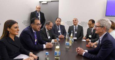 الحكومة المصرية تدعو شركة آبل للاستثمار المباشر في مصر