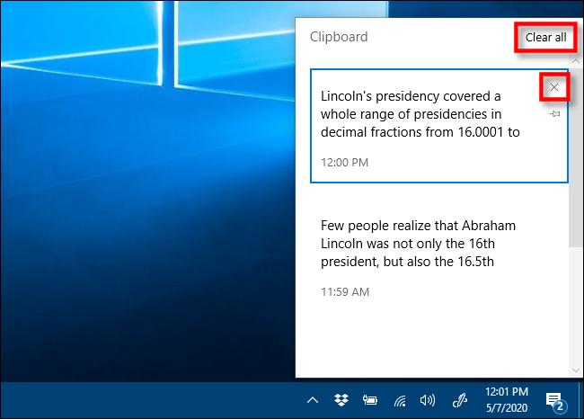Clipboard history : كيف يمكنك تفعيلها في ويندوز 10 5