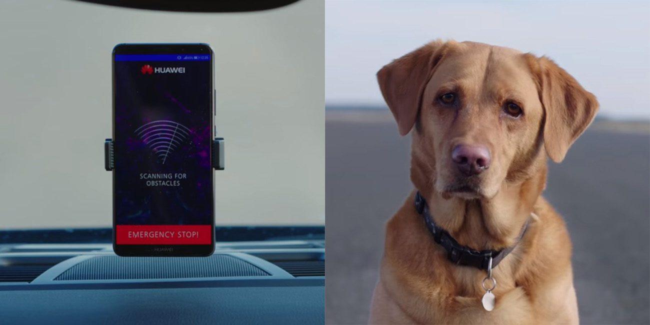 بالفيديو : هواوي تنجح في تقديم هاتف ميت 10 برو في اختبارات سيارات ذاتية القيادة