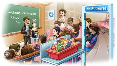 Photo of تطبيق تليجرام يضيف مزايا جديدة لادارة المجموعات بسهولة