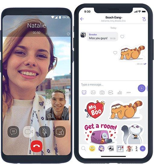 تطبيق فايبر يسمح لك الان بالتحكم في جودة الصورة المرسلة للمحادثات