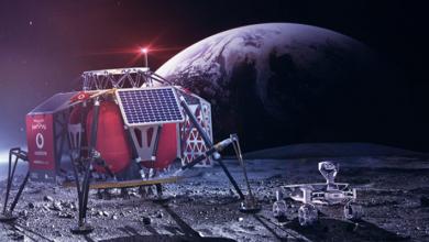Photo of تقارير : فودافون ونوكيا يطوران شبكة 4G على سطح القمر العام القادم