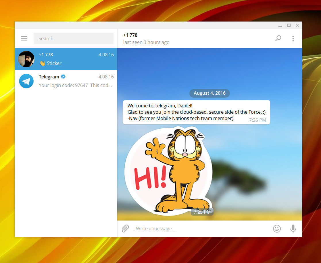 Photo of تليجرام تطلق تطبيقها على متجر الويندوز للاجهزة المكتبية