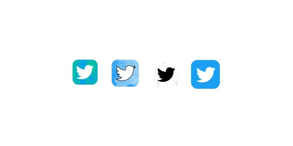 تويتر تختبر ايقونة جديدة لتطبيقها على الايفون