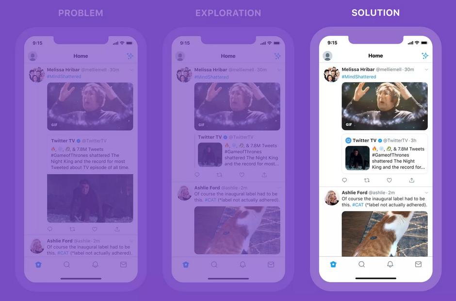 تويتر تسمح الان باعادة التغريد باستخدام صورة او فيديو