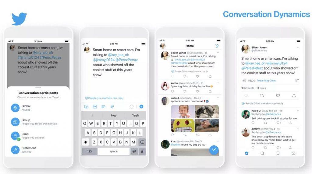 تويتر يختبر طريقة فريدة في الرد على التغريدات تقلل من مشاكل التعليقات