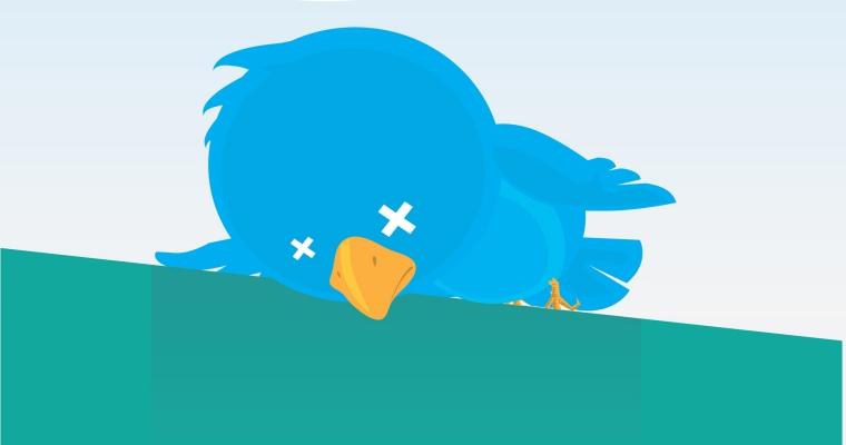 صورة لست وحدك : عطل عام يضرب تويتر