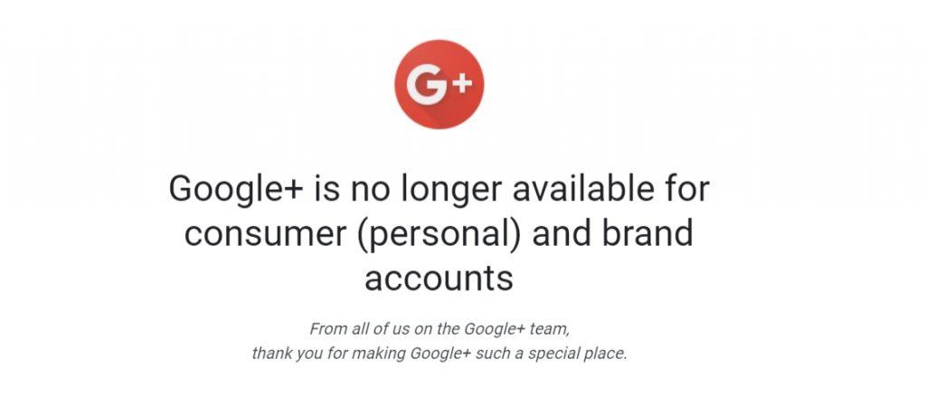 جوجل تقتل رسمياً تطبيقي جوجل بلس وانبوكس 1