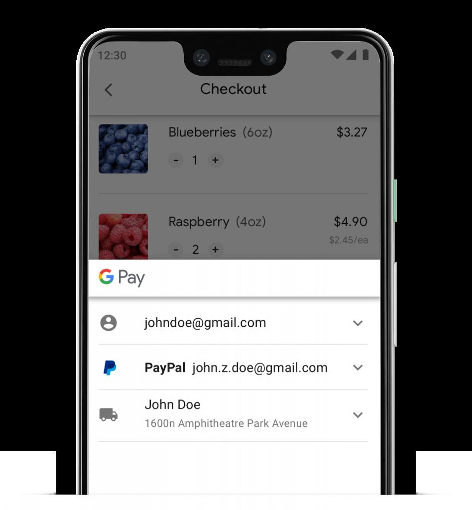 جوجل تضيف دعم الباي بال الى خدمة الدفع Google Pay