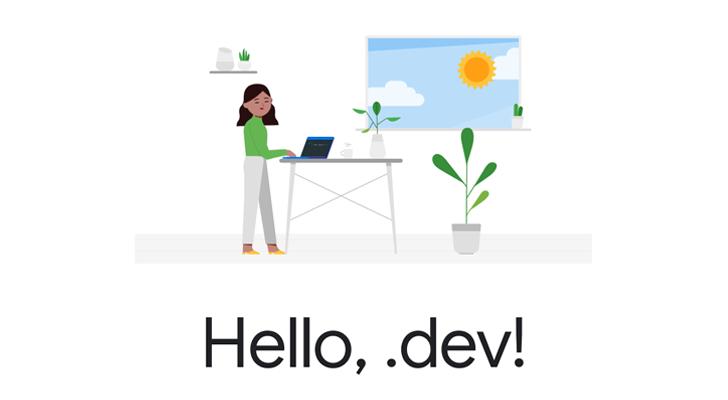 جوجل تفتح التسجيل اليوم لشراء دومينات دوت (dev) بسعر 11200 دولار !