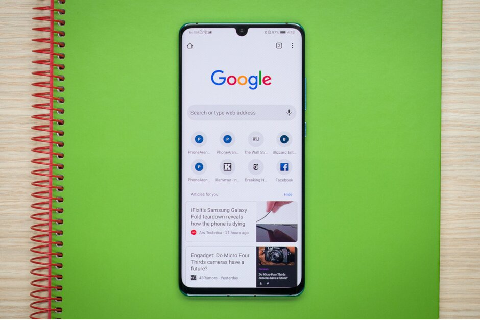جوجل كروم للاندرويد يضيف (لعبة اليوم) في صفحة البداية