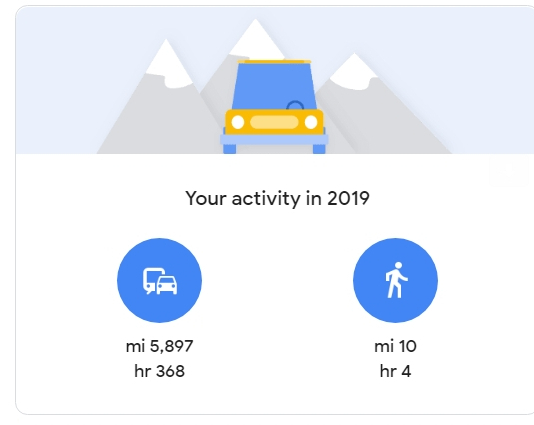 خرائط جوجل ترسل ملخص عام 2019 للمستخدمين 1
