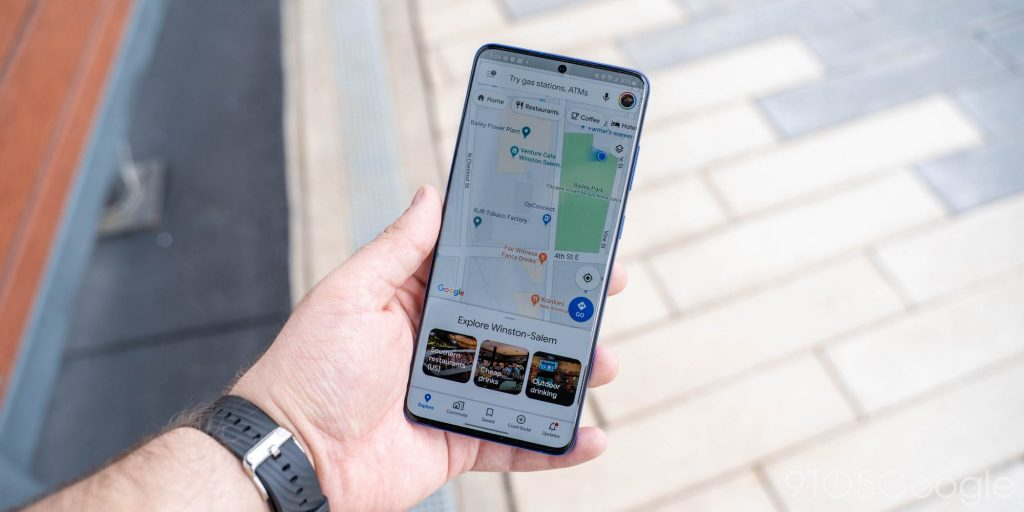 خرائط جوجل تعرض رسالة تحذير عن كورونا عند البحث عن مساعدة طبية