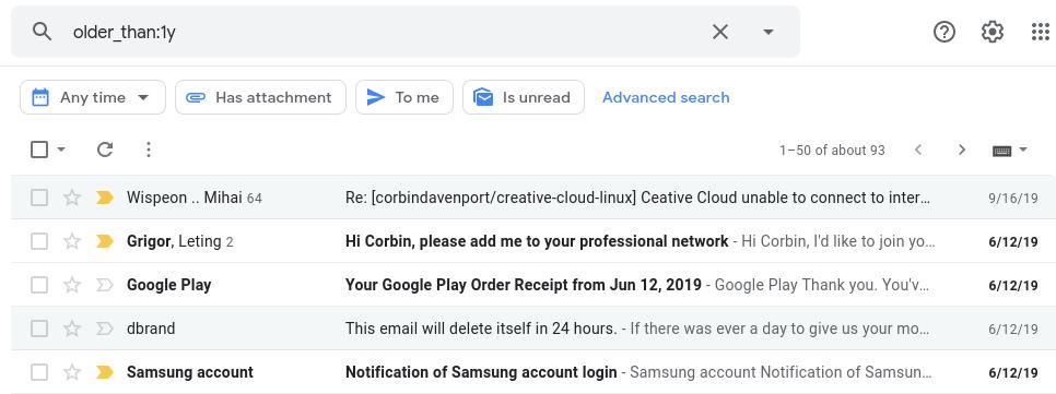 Gmail: كيف تحرر مساحات اضافية في 3 خطوات 4