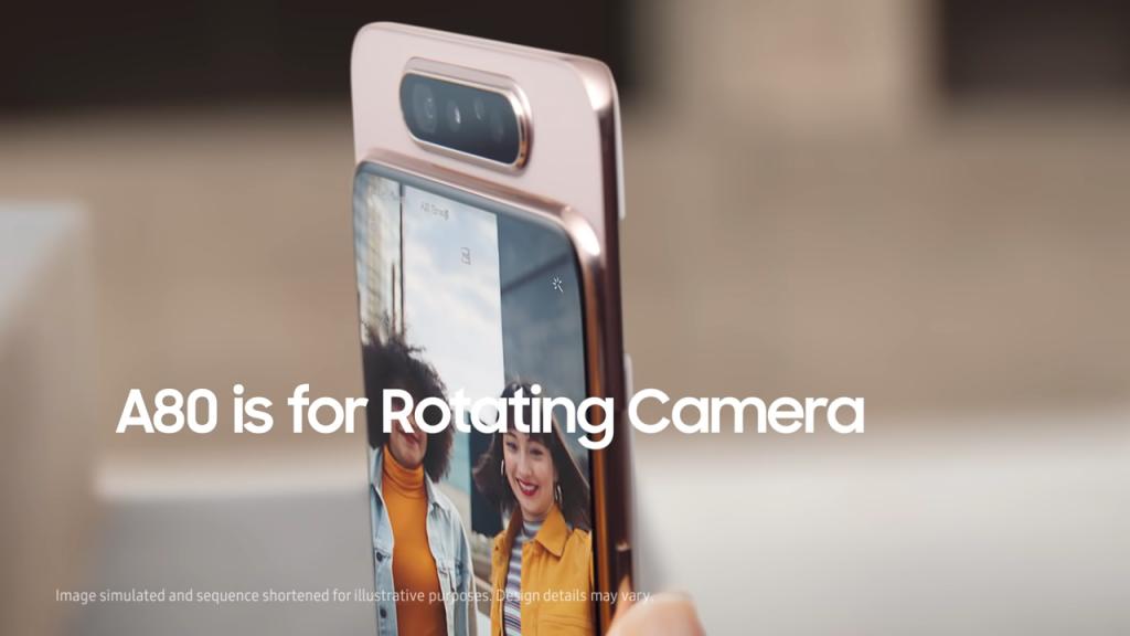 سامسونج ترسل تحديث ينهي بطء استجابة بصمة هاتف Galaxy A80